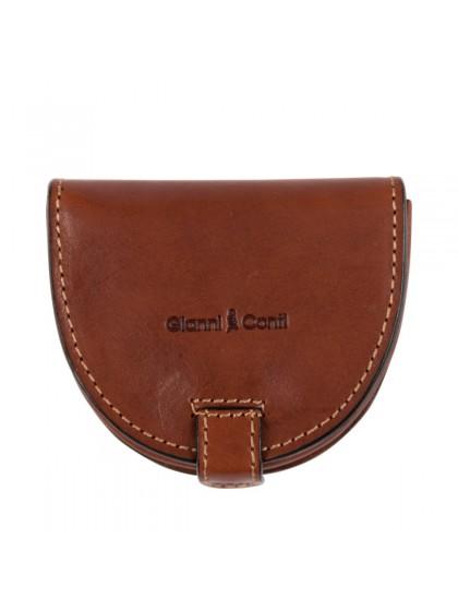 Gianni Conti Leather Coin Purse