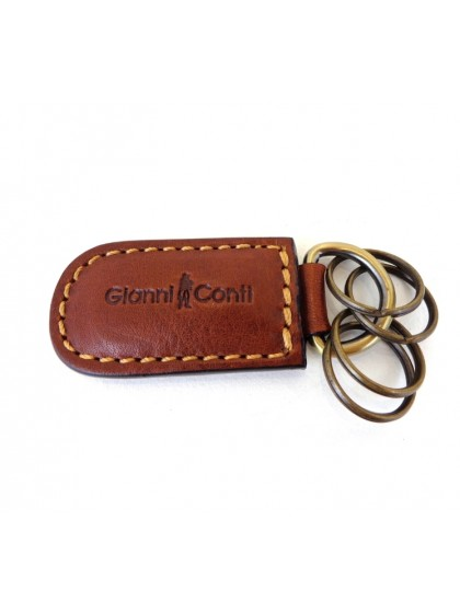 Gianni Conti Leather Keyring