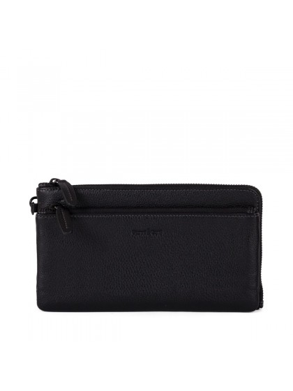 Gianni Conti Leather Clutch Bag