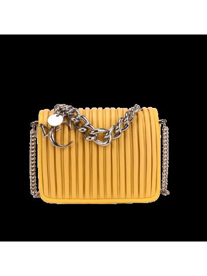 Maria Carla Small Leather Handbag