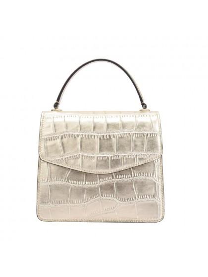 Maria Carla  Leather Shoulder Bag