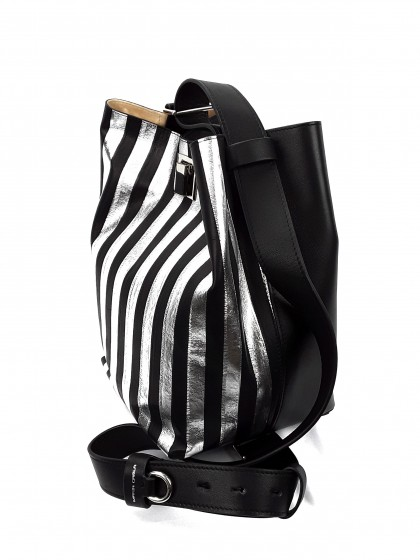 Maria Carla  Leather Handbag